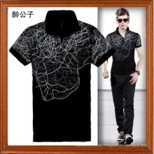 Men Short Sleeve Polo T-Shirts