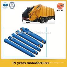 Sistema hidráulico para camión de basura