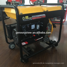 Power Value 2kw Diesel-Generator-Set 170f Diesel-Benzin-Set