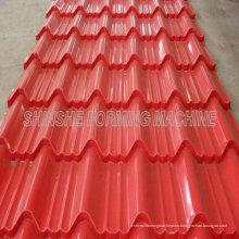 Máquina formadora de techos de tejas metálicas de África