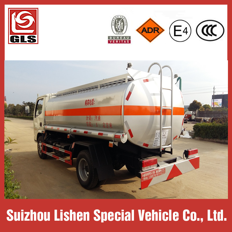 Small Fuel Tanker Truck 5000L Oil Truck Rhd