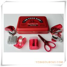 Efectos de escritorio de la caja del PVC para el regalo promocional (OI18023)