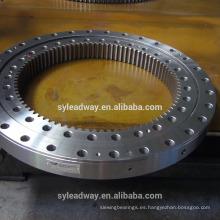 Rodamiento giratorio de rodillos cruzados de bajo par con engranaje externo