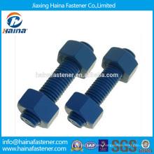 Duplex Thread Rod,Teflon Plate,Zinc-plate