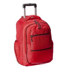 2020 Travel Men Ladies Laptop Trolley Bag, Customized Wheel Backpack