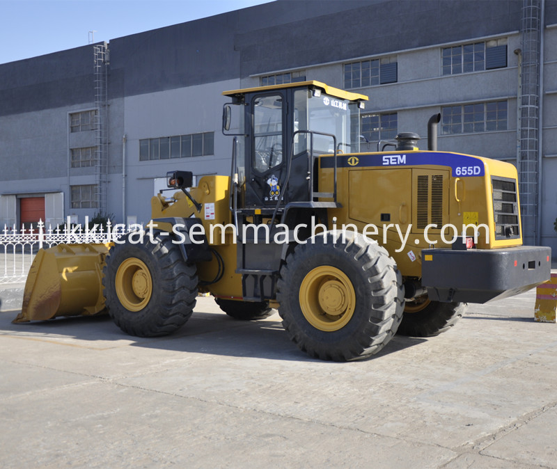SEM655D LOG GRISPER WHEEL LOADER 1