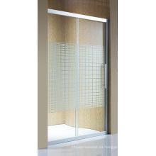 Puerta de ducha de cristal simple de las mercancías sanitarias