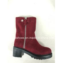 Bottes femme Comfort Winter Leather Warm Snow