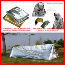 Emergency tent PET Polyester film