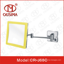 Wall Mounted Bathroom Square Shape Makeup Mirror with LED Light
