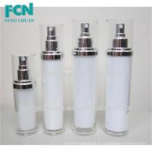 50ml 150ml 120ml 100ml garrafas de loção cosmética de plástico vazio fosco