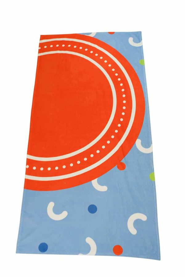 Banana Leaf Print Beach Towel