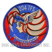 100% 204TFS Mystic Eagle Cartoon Embroidered Patches