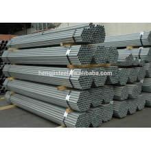 Tianjin sch80 tubo galvanizado / tubo galvanizado