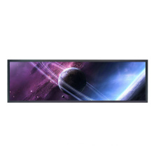 Hot selling 28 inch stretched bar lcd display for airport / shoe stores
