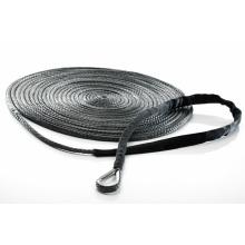 Cuerda de cuerda sintética con cable de acero inoxidable