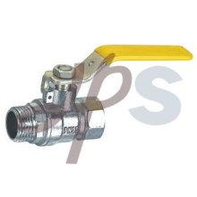 válvula de bola de gas MxF de latón, norma EN331