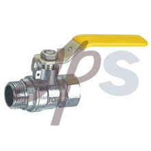 brass MxF gas ball valve, EN331 standard