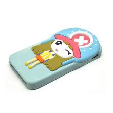 Suave vendiendo caliente caso de silicona para el iPhone 5