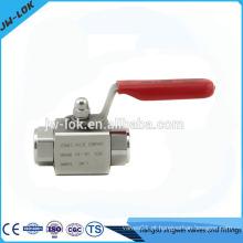 2014 venda quente ss316 3/8 npt válvula de esfera na China