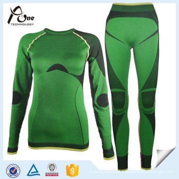 Women Base Layer Seamless Long Johns Thermal Underwear