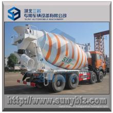 Camion de mélangeur de béton de 8X4 North Benz 10 mètres cubes
