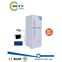 Double porte de réfrigérateur solaire