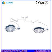 El mejor diseño LED doble cabeza de techo de frío Shadowless funcionamiento lámparas