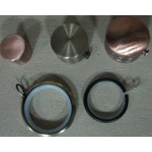 Простые железные занавески торцевые крышки для украшения