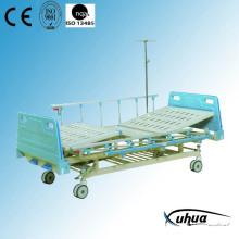 Central Braking Two-Rocker Mechanical Hospital Medical Bed (B-3)