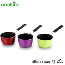 Colorful Mini Non Stick Spiral Bottom Pot