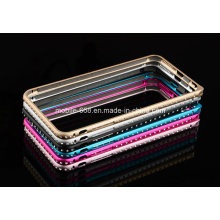 Новейший роскошный Алмаз Алюминиевый бампер для iPhone 6