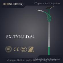 Luz de rua solar exterior do diodo emissor de luz de 6-10m com o Ce aprovado