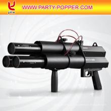 tirador eléctrico de cañones de confeti eléctrica