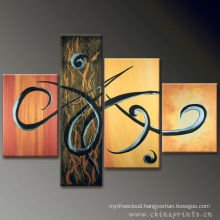 Hot Sale Abstract pictures Painting by OIL