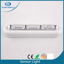 Battery operated touch indoor led sensor light