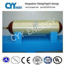 Cilindros alinhados de aço envolvidos da aro de CNG para Vehical