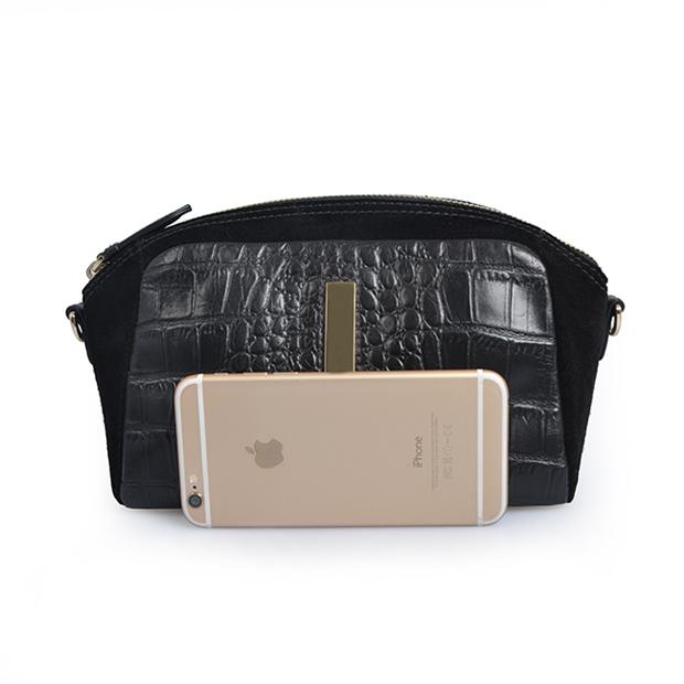 American Trendy Crocodile leather handbag evening bags clutches crossbody handbag