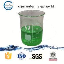 Descoloração de tratamento de água para indústria de processamento de alimentos