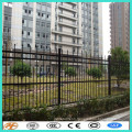 2017 hot sale wrought iron temporary fence
