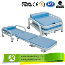 Hôpital Accompagnant un fauteuil pliant en mousse (CE / FDA / ISO)