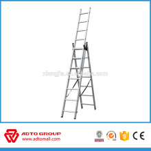 Escalera de extensión de cuerda, escalera de extensión de aluminio, escalera de extensión EN131
