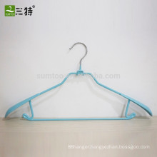 wholesale pvc coated metal lingerie hanger