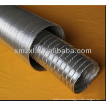 conducto flexible de aluminio, manguera flexible, manguera de conducto flexible a prueba de calor