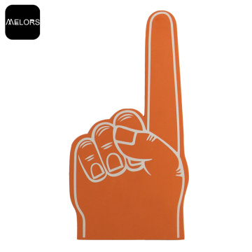 Orange Color Evento Esportivo EVA Foam Cheering Finger