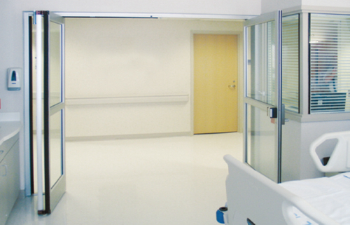 Reliable Automatic Swing Doors for Hospital Use
