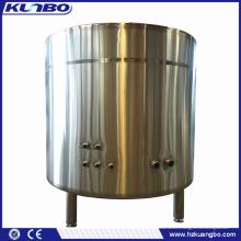 Réservoir de stockage de gaz réfrigérant d'éthylèneglycol ethanediol d'acier inoxydable de KUNBO