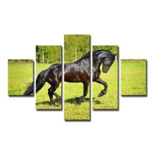 Отпечатки на холсте лошади искусство печать Живопись