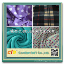2013 New Style Polyester Christmas Print Fleece Fabric