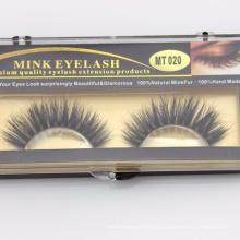 3D Horse Lashes pestañas de pelo de caballo real pestañas de piel de caballo más grueso y natural